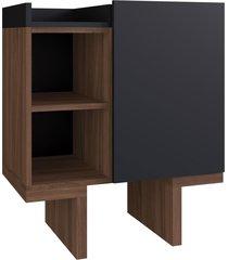 balcão p/ banheiro bacco preto estilare móveis