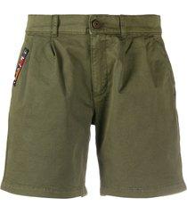 mr & mrs italy army shorts - green