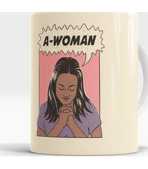 caneca a-woman
