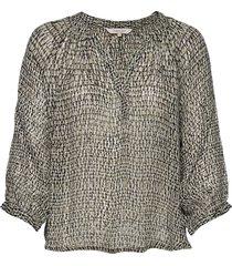 erdonaepw bl blouse lange mouwen groen part two