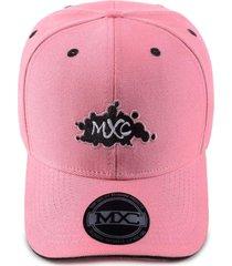boné mxc pink & black rosa