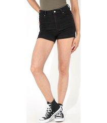 shorts denim basic risvolto