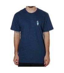 camiseta vissla silk casino  azul marinho  g azul marinho