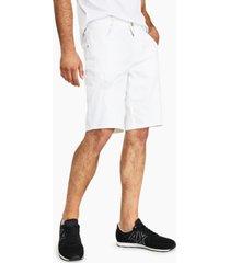 ax armani exchange men's stretch bull denim shorts, created for macy's