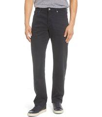 men's dl1961 avery modern straight leg jeans, size 30 x 34 - black