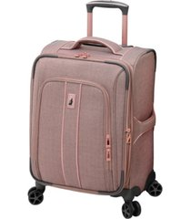 "london fog newcastle softside 20"" spinner suitcase"