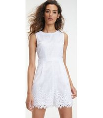 tommy hilfiger women's summer sleeveless romper classic white - 12