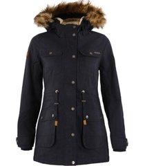 chaqueta peumo canvas hoody jacket azul noche lippi