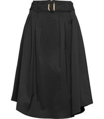 skirts light woven knälång kjol svart esprit collection