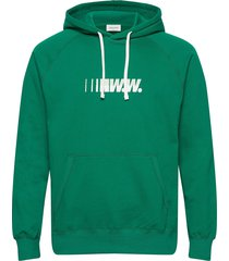 fred hoodie hoodie trui groen wood wood