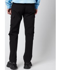 martine rose men's grow trousers - black - l