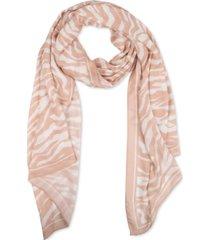 rebecca minkoff zebra-print long scarf