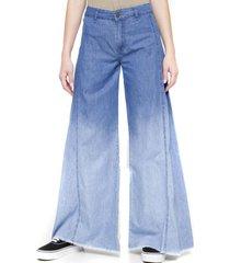 jeans palazzo jeans celeste five