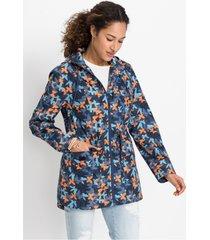 zomerjas in raincoat look