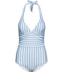 monte carlo swimsuit baddräkt badkläder blå missya