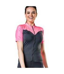 camiseta ciclismo elite 135115 feminina