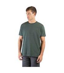 t-shirt básica comfort verde musgo verde musgo/g