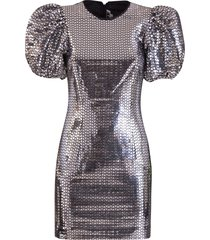 rotate by birger christensen rotate rudy mirrored party dress