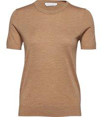 falyssa t-shirts & tops short-sleeved brun boss