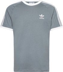 3-stripes tee t-shirts short-sleeved blå adidas originals