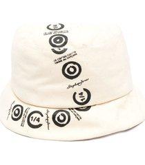 10 corso como logo-print cotton bucket hat - neutrals