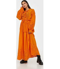 y.a.s yasrina ls ancle dress - fest s. långärmade klänningar