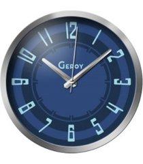 zegar ścienny granatowy cichy designerski