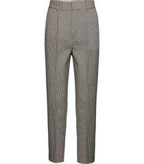 fifi slimfit broek skinny broek beige custommade
