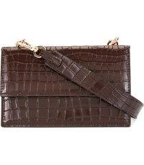 0711 ada shoulder bag - brown