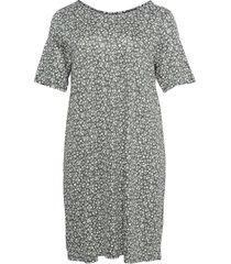 carbandana s/s dress knälång klänning grå only carmakoma