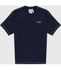 camiseta azul navy-azul adidas originals ww