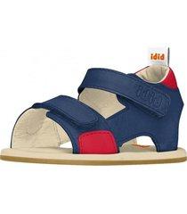 sandalia casual azul bibi