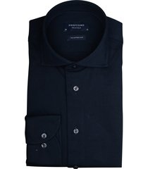 profuomo overhemd jersey sf donkerblauw pp0h0a054/p