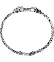 legends naga' sapphire silver chain bracelet