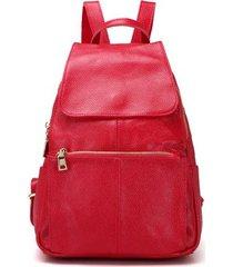 mochilas/ estilo preppy mochila escolar mochila de-rojo