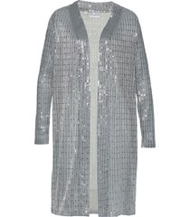 cardigan in jersey lungo (argento) - bpc selection premium