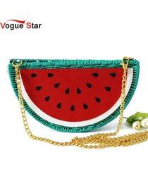 watermelon straw bag beach bag purses and handbags crossbody bags for women la33