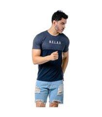 camiseta cia gota relax masculina