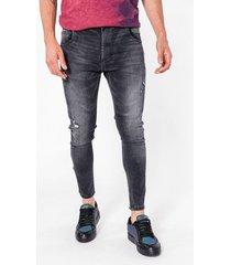 jean gris tascani skinny texas