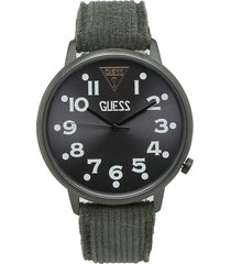 reloj verde oliva guess