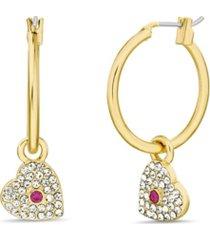casted hoop earrings