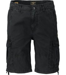 superdry short - slim fit - zwart