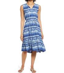 beachlunchlounge lou lou belted sleeveless shift dress, size x-large in zanzibar at nordstrom