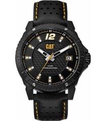 reloj negro cat carbon blade