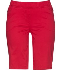 bermuda con cinta elastica (rosso) - bpc bonprix collection