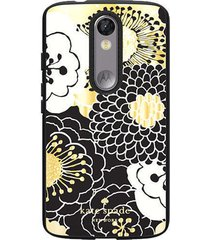new kate spade ny flexible hardshell case motorola droid turbo 2 festive floral