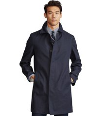 polo ralph lauren men's cotton gabardine trench coat