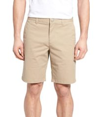 men's bonobos stretch washed chino 9-inch shorts, size 35 - beige
