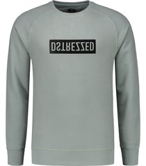 dstrezzed pullover - slim fit - blauw