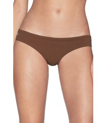 women's maaji sublime texture signature cut reversible bikini bottoms